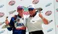 Ricky Hendrick wins Kansas truck race