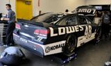 Rain delay stalls Daytona Sprint Cup test