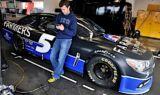 Hendrick Motorsports at Daytona test