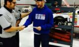 Earnhardt rings Victory Bell with teammates
