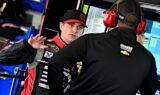 Jeff Gordon, No. 24 team at Fontana