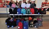 McGrew, team help Blessings in a Backpack
