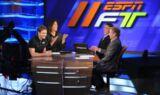Jeff Gordon visits ESPN