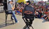 Chevy Stage at Daytona