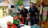 Pit Crews for Kids' Christmas visit