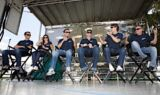 Hendrick Motorsports drivers at Chevy Day