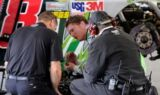 Dale Earnhardt Jr. and the No. 88 team at Pocono