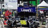 No. 48 team at Bristol Motor Speedway
