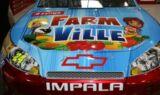 FarmVille on Jeff Gordon's No. 24 Chevy at Bristol
