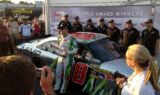 Earnhardt wins pole at Richmond
