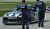 Jimmie Johnson, No. 48 team at Chicagoland