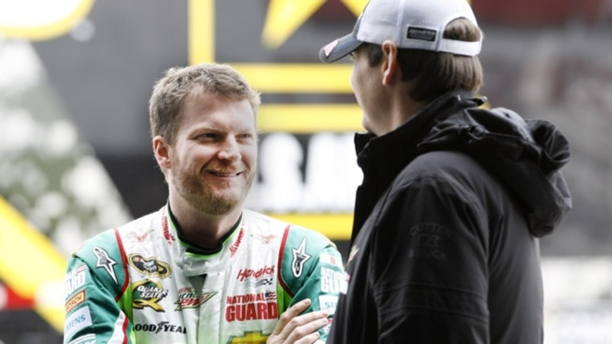 Earnhardt says Chevrolet SS race car has 'awesome potential'
