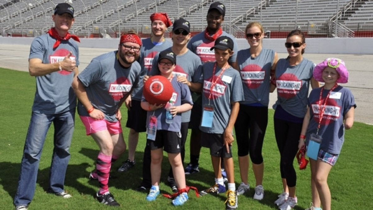 Fans invited to come watch Jeff Gordon, Chad Knaus, others in charity kickball game