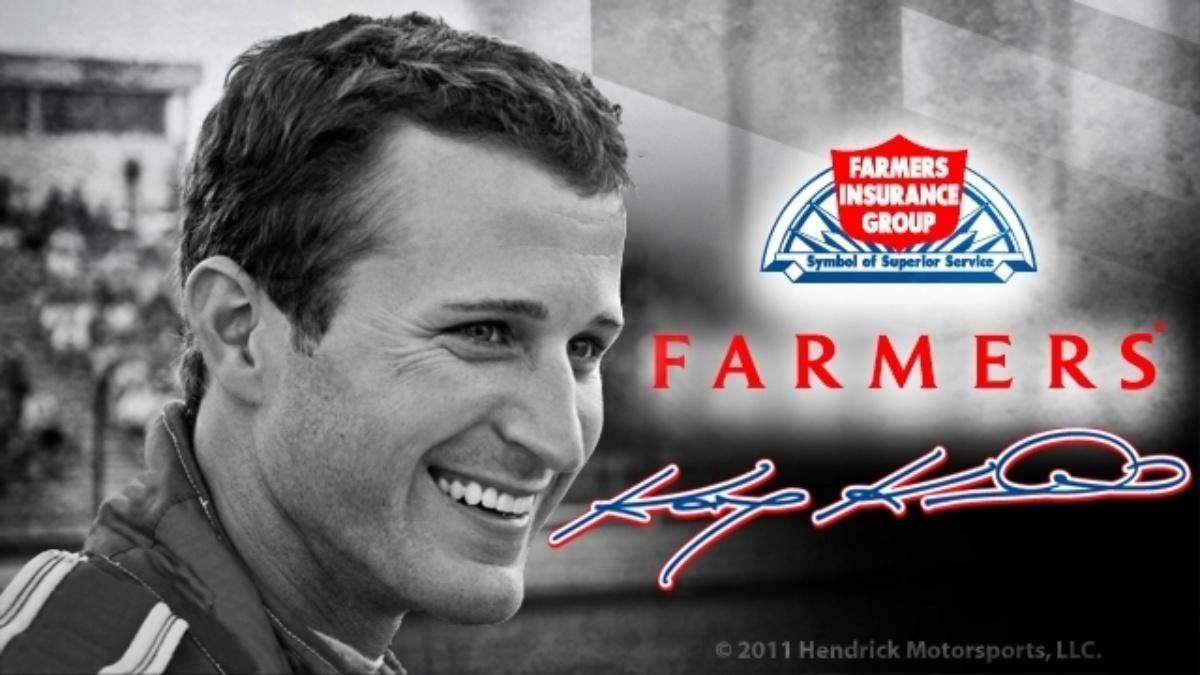 Farmers Insurance to sponsor Kasey Kahne beginning in 2012