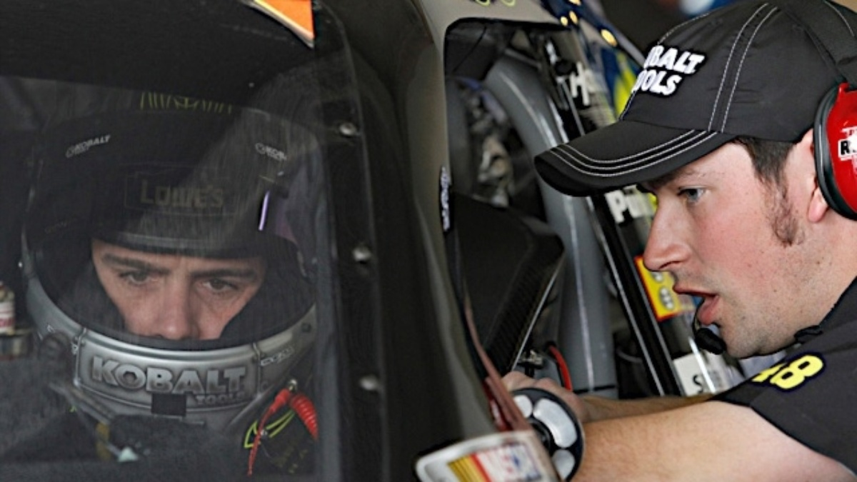 Getting to know Bart Apple, interior mechanic on the No. 48 Lowe's Chevrolet