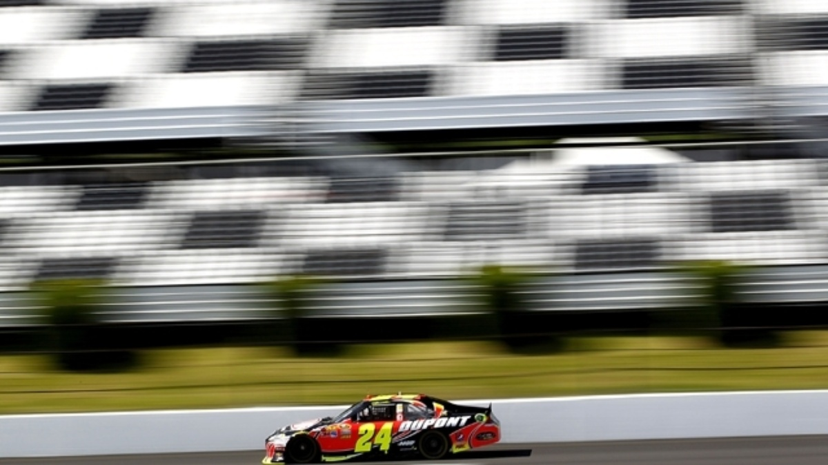 Gordon pleased with Pocono repave, ready for Sunday's race