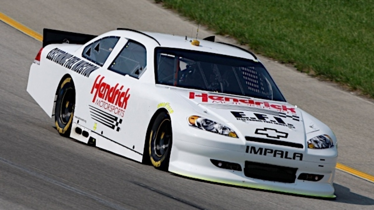 Hendrick Motorsports participates in electronic fuel injection test
