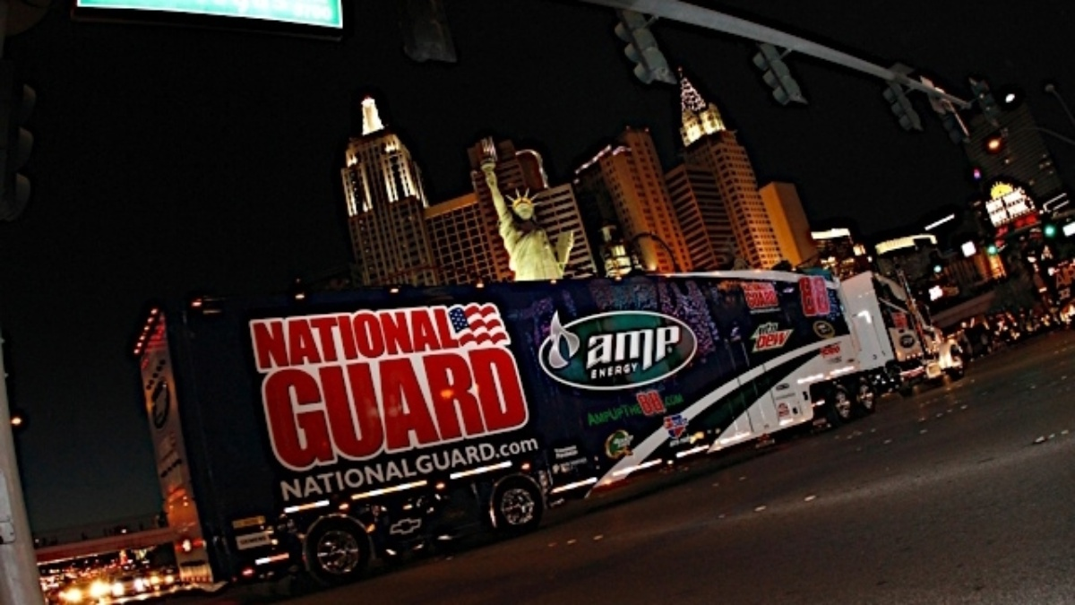 Hendrick transporters set for Indy hauler parade today