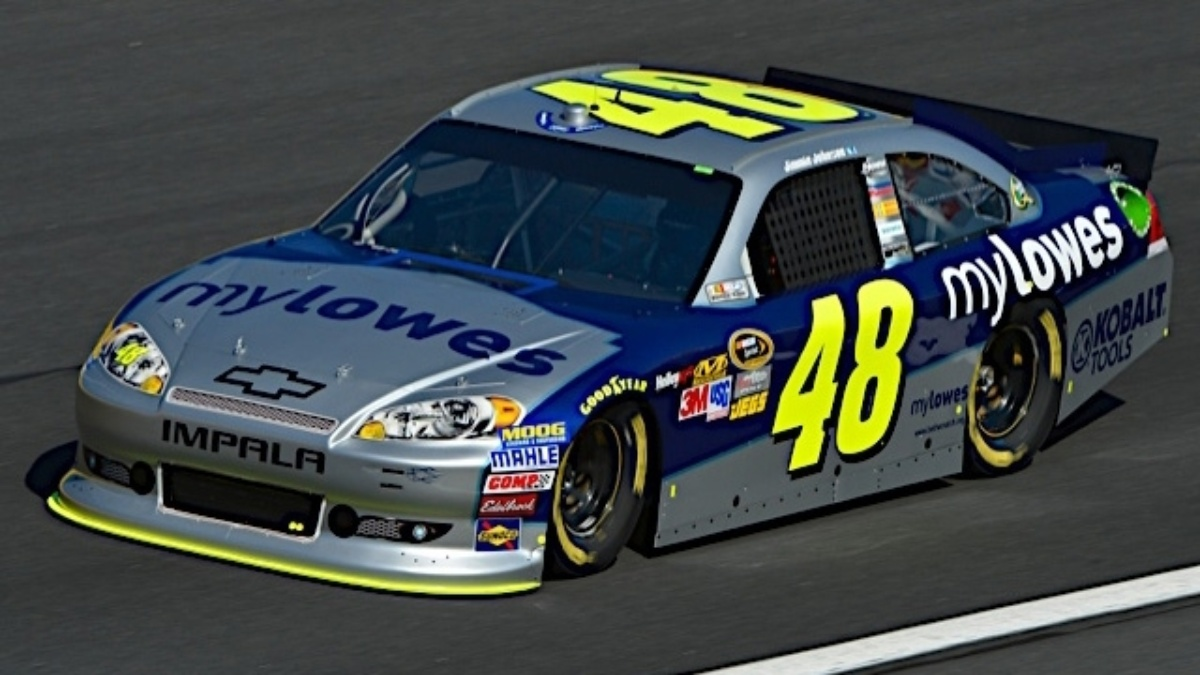 Johnson, Kahne finish in top eight at Charlotte