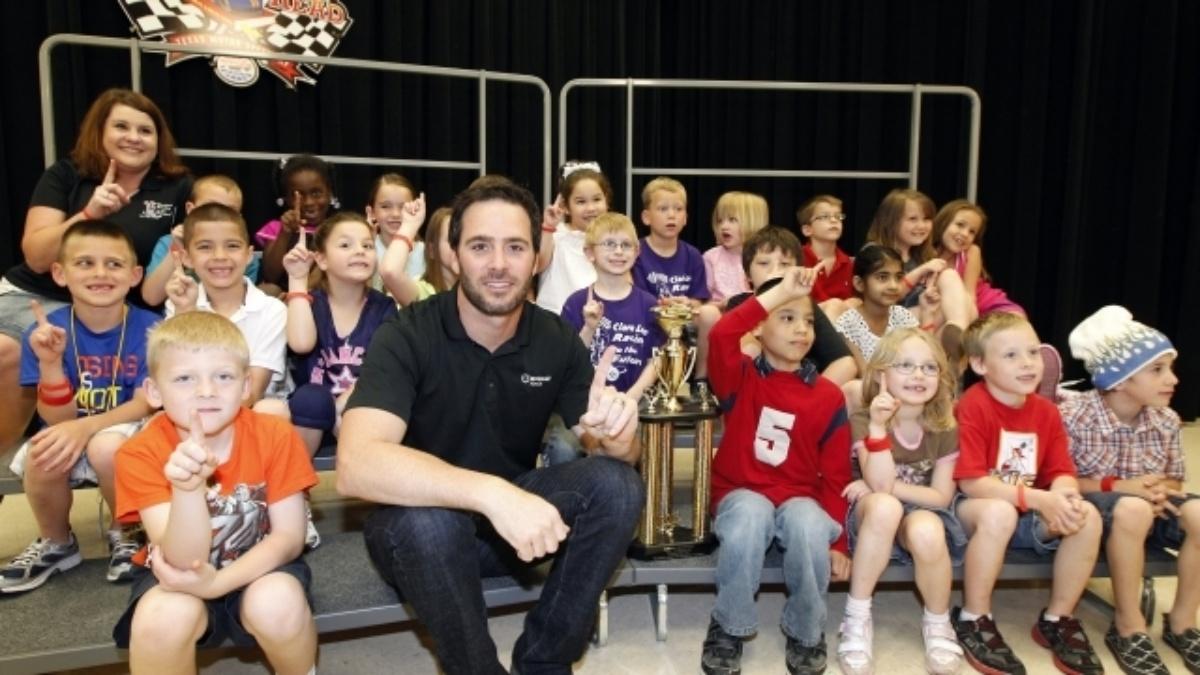 Johnson crowns 'Speeding to Read' champion in Texas