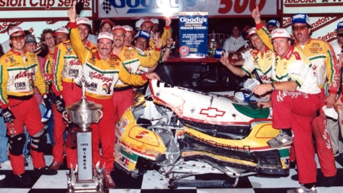 Looking back at Terry Labonte's 1995 win at Bristol