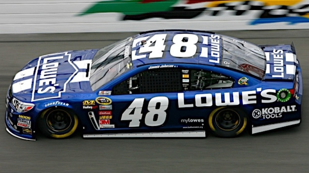 Lowe's extends sponsorship of Hendrick Motorsports, five-time champion Jimmie Johnson through 2015