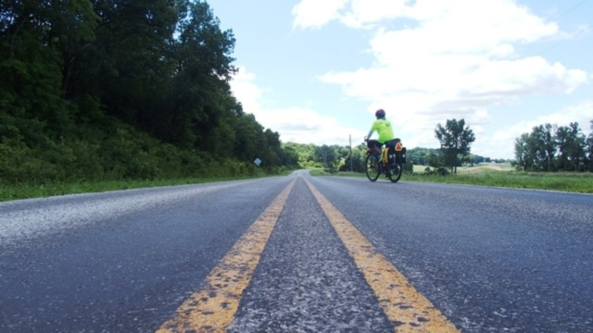 Retired Hendrick Motorsports employee rides for a cause