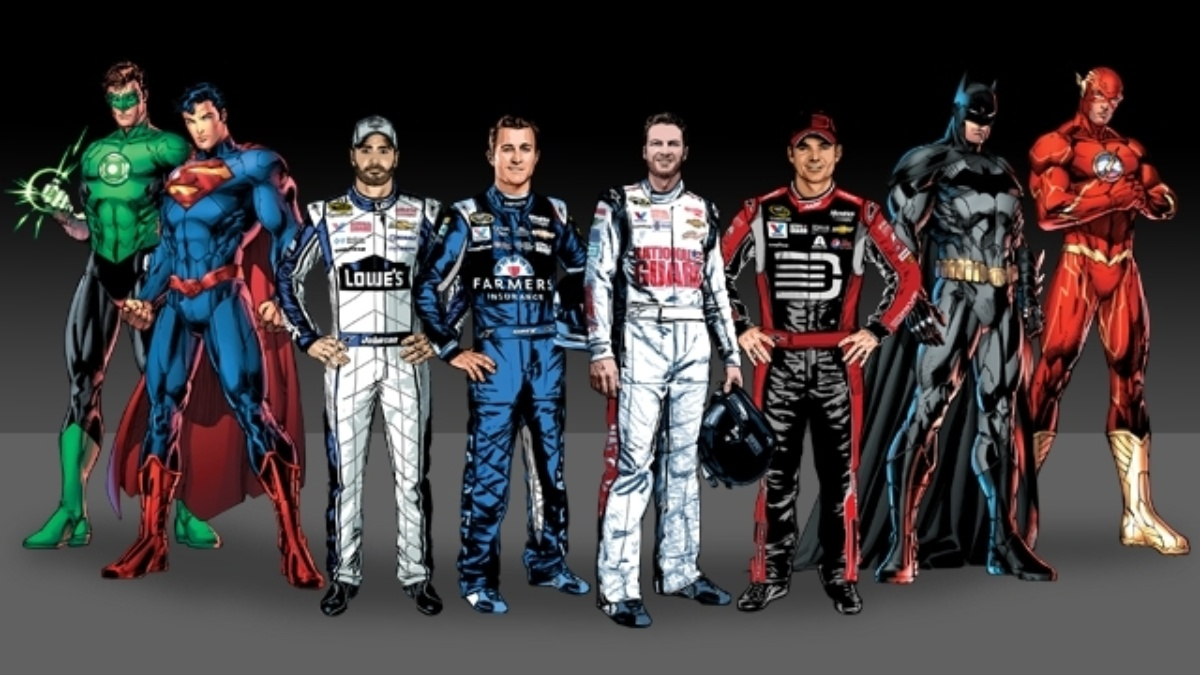 Warner Bros. Consumer Products and DC Entertainment join forces with Hendrick Motorsports