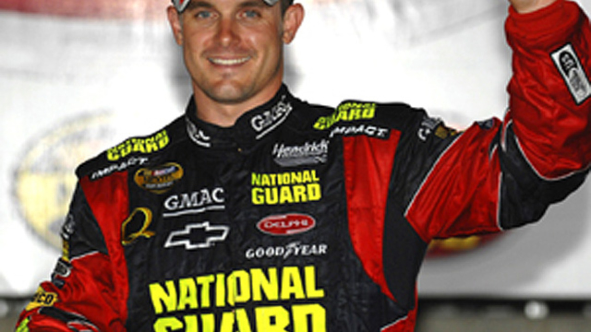 Casey Mears Wins at Lowe's Motor Speedway