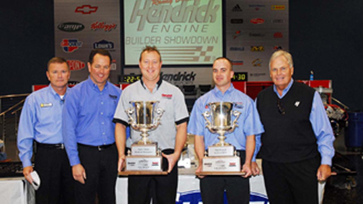Duo wins Randy Dorton Hendrick Engine Builder Showdown with record time