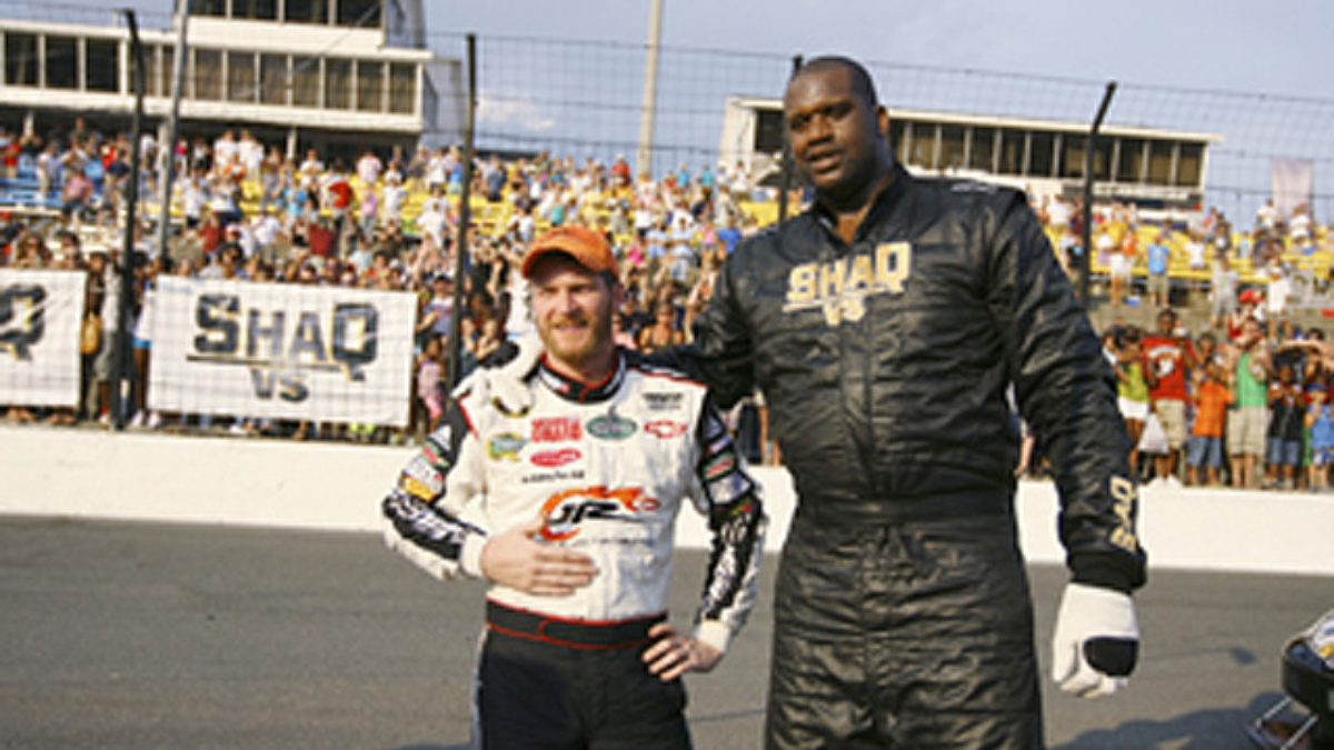 Earnhardt to appear on 'Shaq Vs.' Tuesday