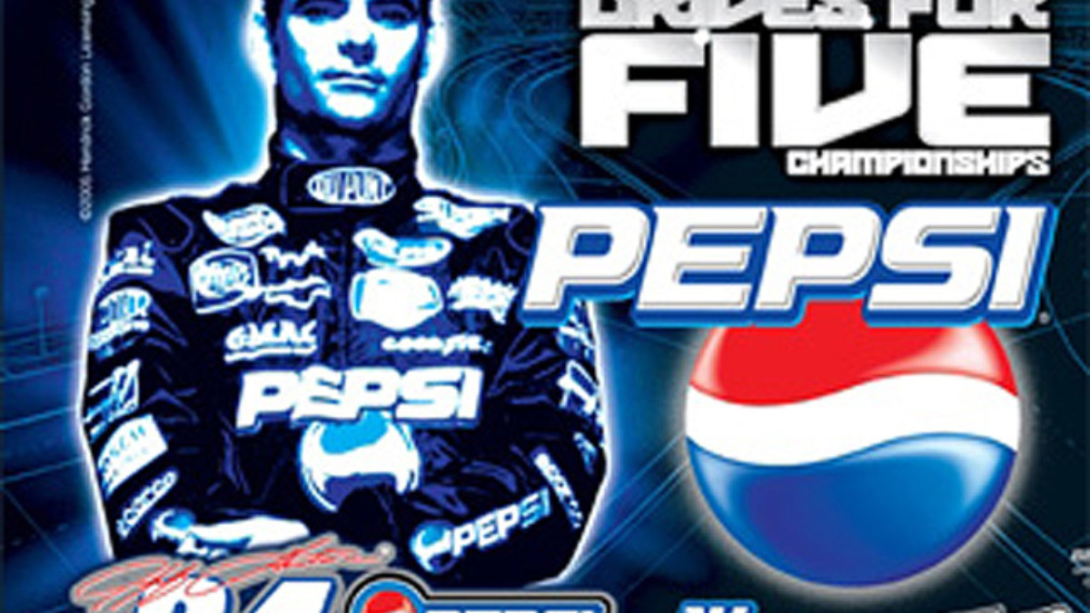 Exclusive Jeff Gordon 'Drive for Five' Cans