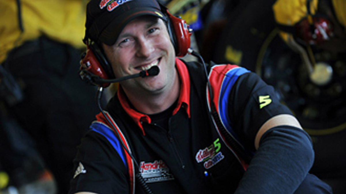 Getting to know Clint Jennings, shock specialist for the No. 5