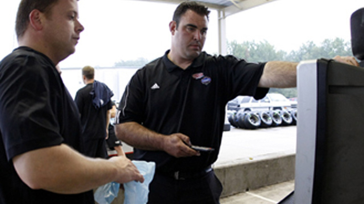 Getting to know Greg Morin, head pit crew coach for the Nos. 24/48 teams