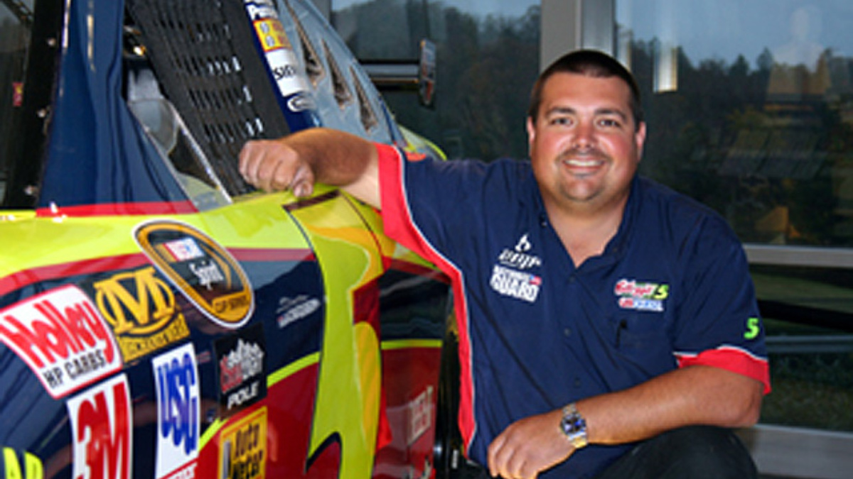 Getting to know Jeremy Brickhouse, spotter for the No. 5