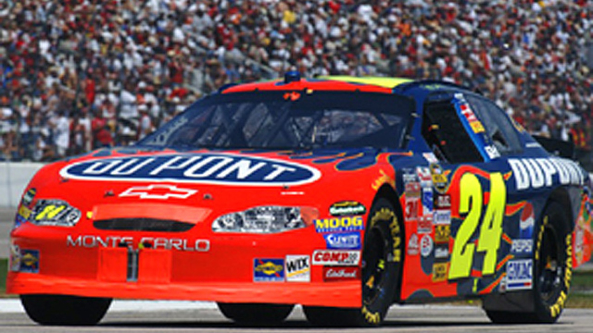 Jeff Gordon's No. 24 DuPont Chevy to Disappear in '06