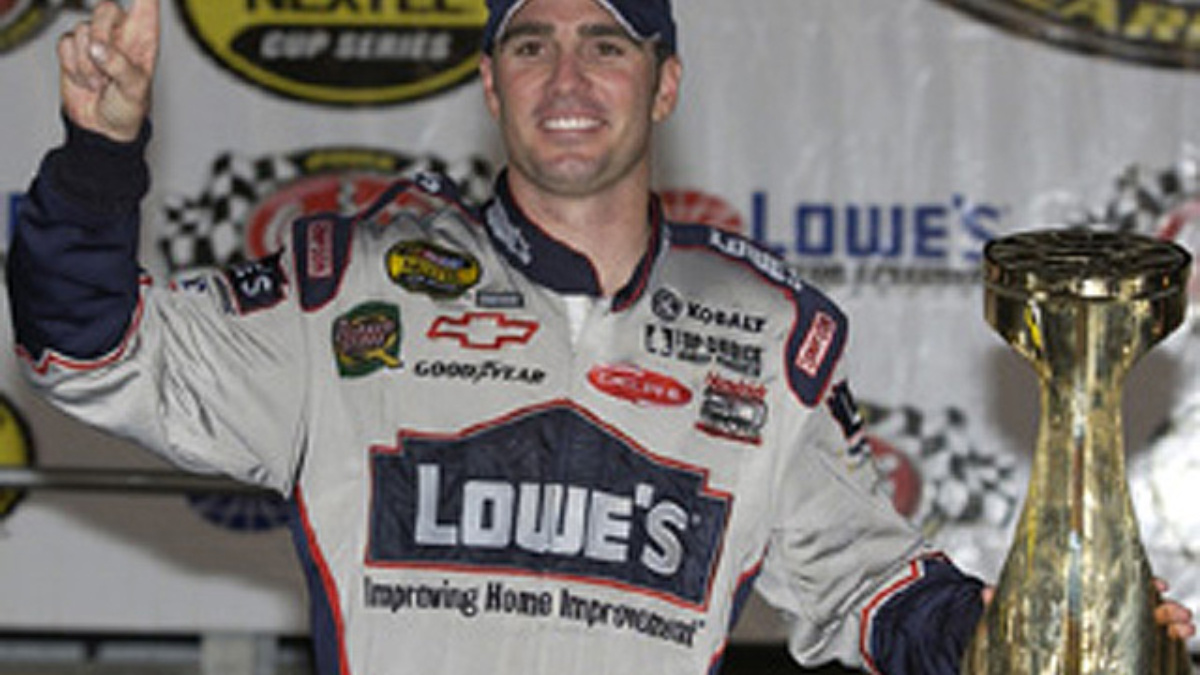 Johnson Completes 'Sponsor Sweep' with Lowe's Win