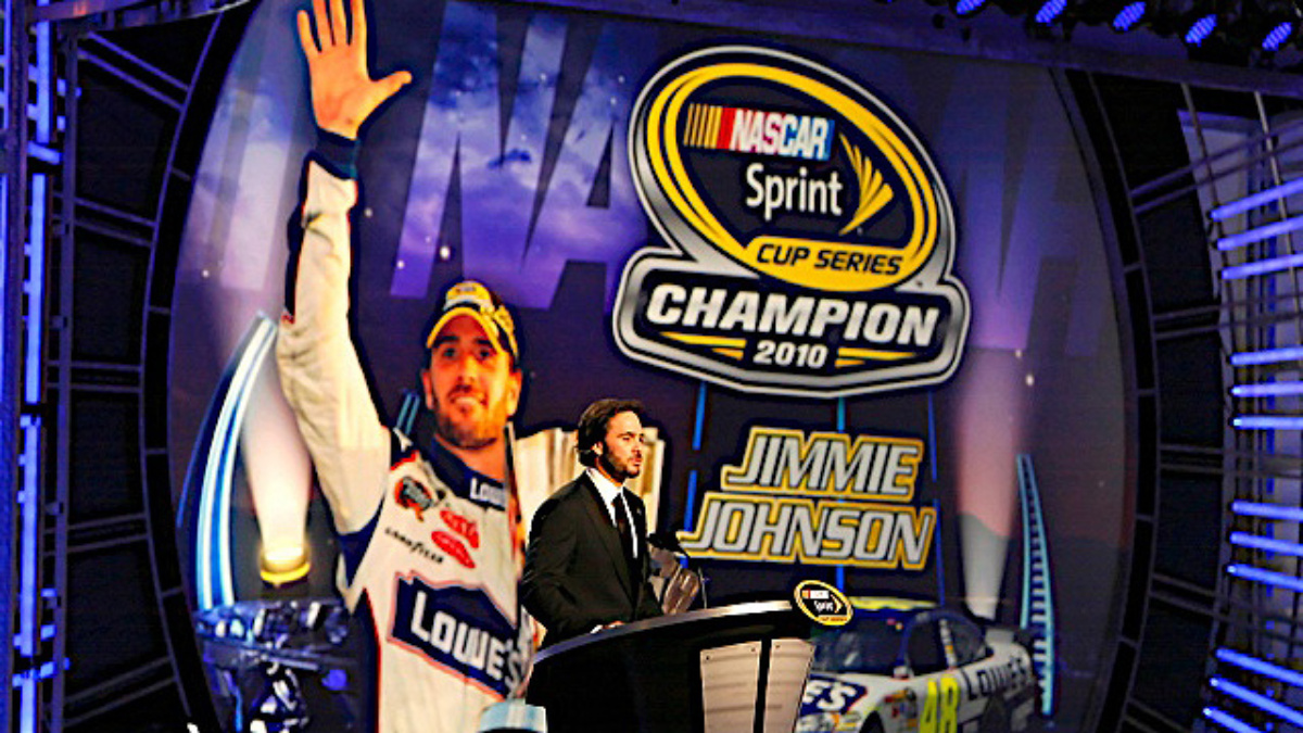 Johnson, Knaus enjoy relaxing Champion's Week