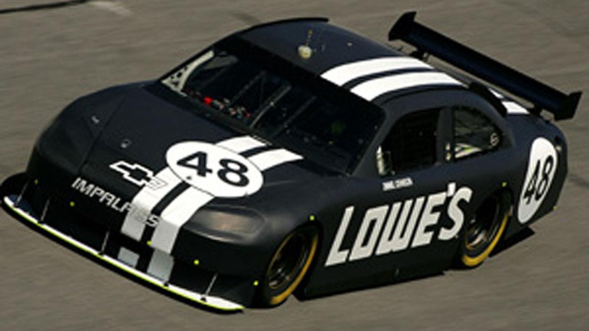 Johnson happy to be back on track at Daytona