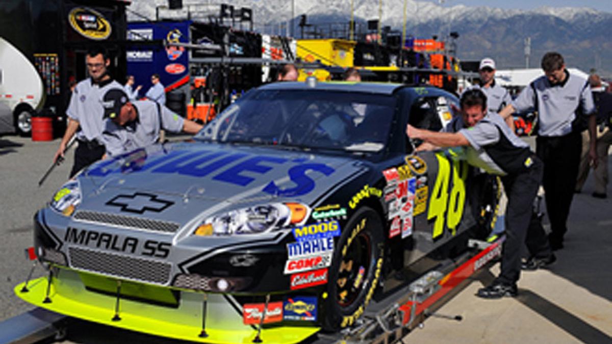 Johnson, team upbeat about setup for Las Vegas