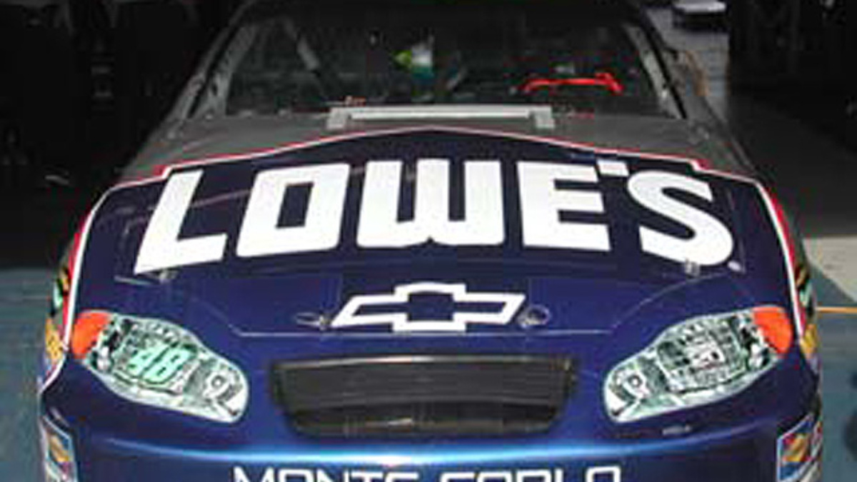 LMS Success: Johnson Grabs Pole at Lowe's