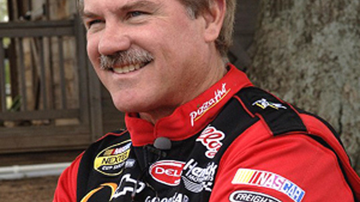 Labonte Driving ditech.com Chevy at Indy