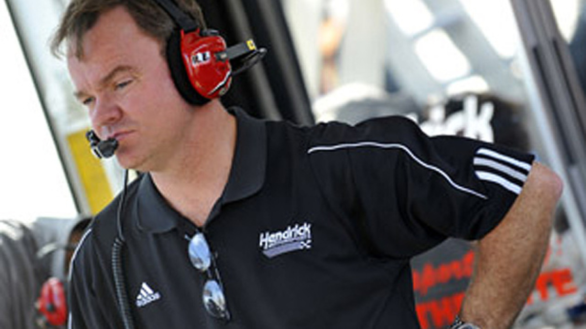 McGrew named interim crew chief of No. 88 Sprint Cup team