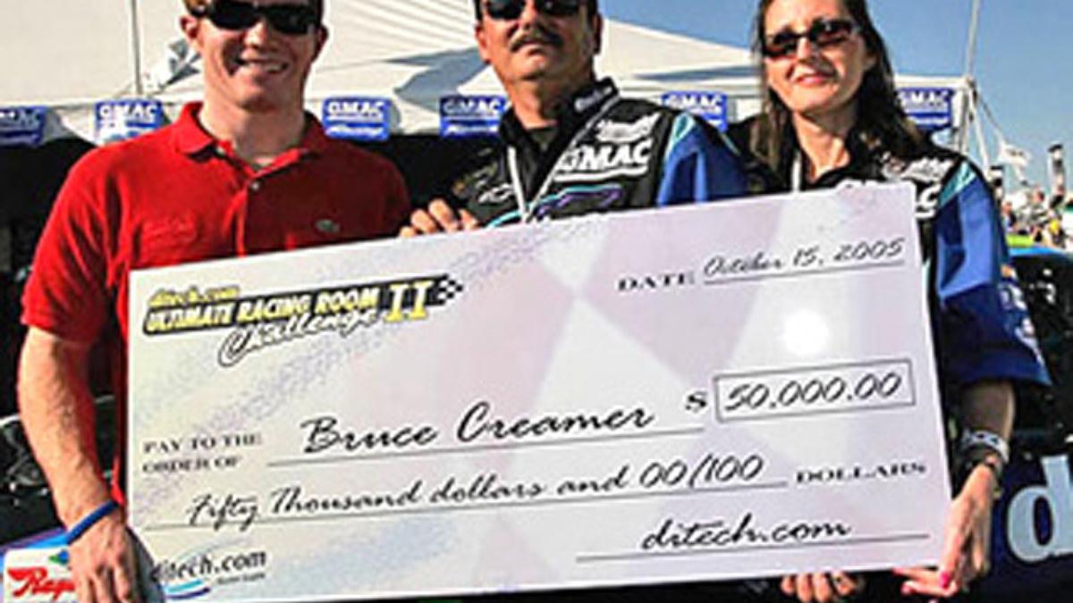 Ultimate Racing Room: ditech.com Names '05 Winner