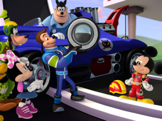 Johnson, Gordon team up with Mickey Mouse