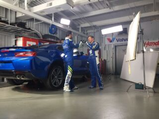 Earnhardt, Johnson gear up for 2017 with Valvoline