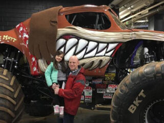 Crew chiefs take in Monster Jam