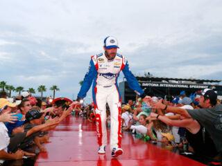 Shots of the Race: Johnson at Daytona