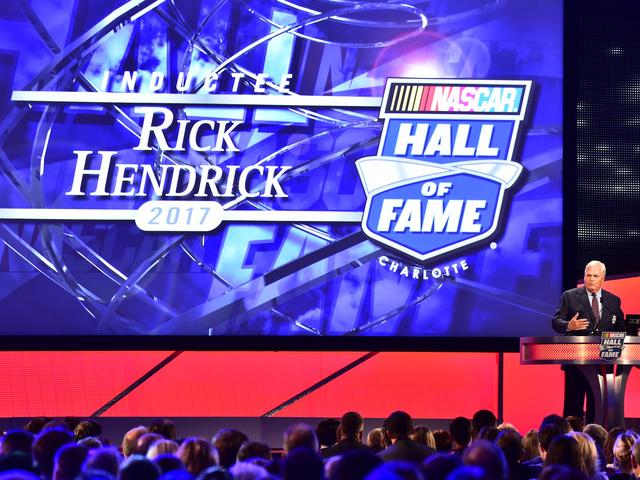 Hall honor allows Hendrick to reflect