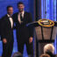 Johnson on Michael Phelps introduction, banquet speech